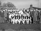 1954 - UCC v Queens University, Collingwood Cup semi-final.