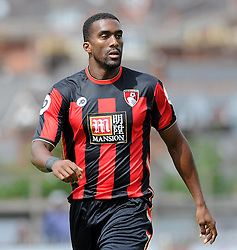 Bournemouth's Sylvin Distin. - Photo mandatory by-line: Harry Trump/JMP - Mobile: 07966 386802 - 18/07/15 - SPORT - FOOTBALL - Pre Season Fixture - Exeter City v Bournemouth - St James Park, Exeter, England.