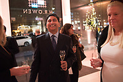 MANGAL KAPOOR, Hubert de Vinols hosts the launch of Tables D'Exception, Rolls Royce Showroom,  Berkeley Sq. London. 29 November 2018