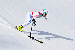 JALLEN Stephanie LW9-1 USA competing in the Para Alpine Skiing Downhill at the PyeongChang2018 Winter Paralympic Games, South Korea