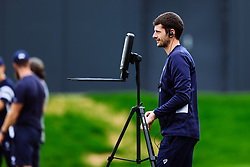 Jack Gillies (Sports Scientist) looks on as Bristol Bears start to use their new almost completed Training centre - Rogan/JMP - 08/07/2020 - RUGBY UNION - Beggar Bush Lane - Bristol, England.