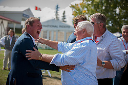 Philippaerts Ludo (BEL) with Jos and Axel Verlooy<br /> Spruce Meadows Masters - Calgary 2012<br /> © Dirk Caremans