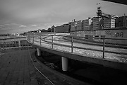 Rivning av östra bron