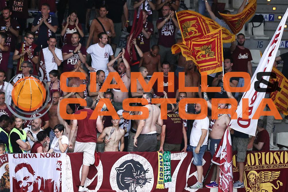 Tifosi Venezia, Dolomiti Energia Trentino vs Umana Reyer Venezia LBA Serie A Playoff Finale gara 3 stagione 2016/2017 Pala Trento, Trento 14 giugno 2017