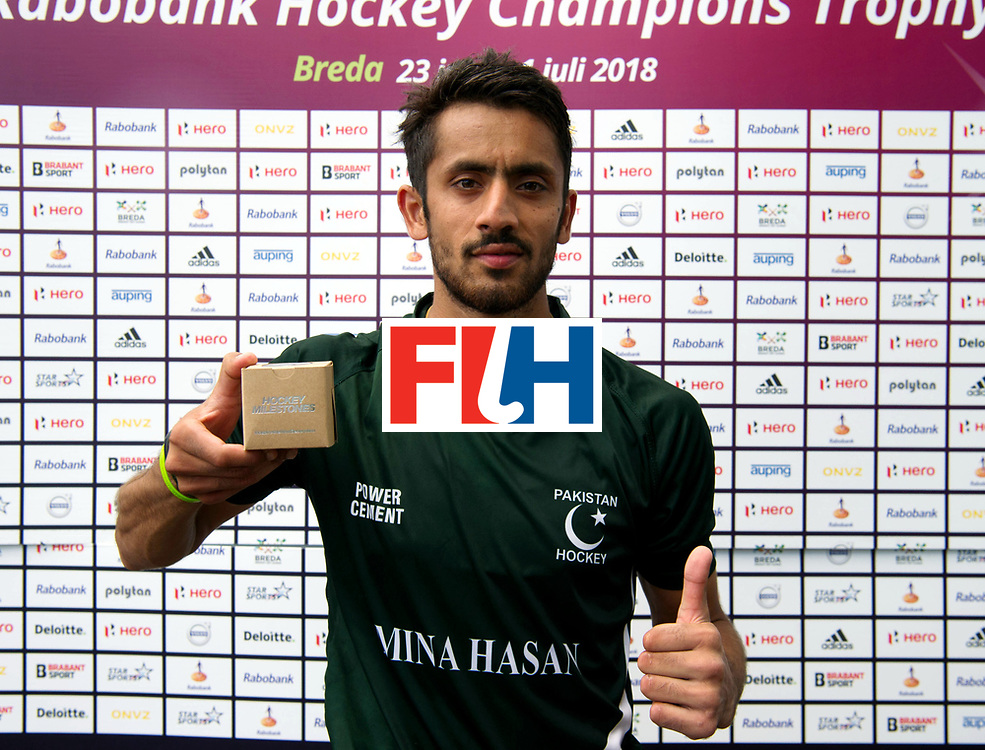 BREDA - Rabobank Hockey Champions Trophy<br /> Argentina - Pakistan<br /> Photo:  BUTT Ammad.<br /> COPYRIGHT WORLDSPORTPICS FRANK UIJLENBROEK
