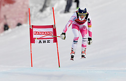 08.03.2017, Are, SWE, FIS Ski Alpin Junioren WM, Are 2017, Damen, Abfahrt, im Bild Alice Merryweather, USA, etta i störtlopp // during ladie's Downhill of the FIS Junior World Ski Championships 2017. Are, Sweden on 2017/03/08. EXPA Pictures © 2017, PhotoCredit: EXPA/ Nisse<br /> <br /> *****ATTENTION - OUT of SWE*****