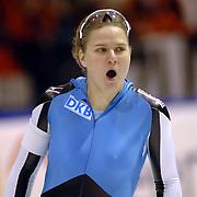 NLD/Heerenveen/20060122 - WK Sprint 2006, 2de 1000 meter dames, Jenny Wolf