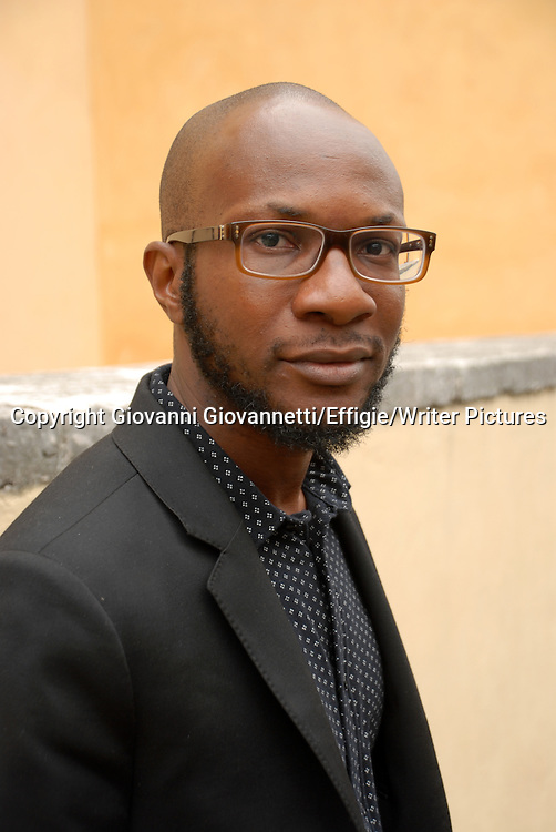 Teju Cole, Festivaletteratura Mantova, Nigerian-American writer, photographer and art historian<br /> 04 September 2014<br /> <br /> Photograph by Giovanni Giovannetti/Effigie/Writer Pictures <br /> <br /> NO ITALY, NO AGENCY SALES