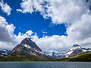 Swiftcurrent Lake, Grinnell Point-Glacier National Park