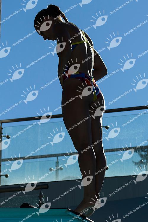Francesca Dallape' <br /> Trampolino 3m Donne <br /> Roma 21-06-2016 Stadio del Nuoto Foro Italico Tuffi Campionati Italiani <br /> Foto Andrea Staccioli Insidefoto