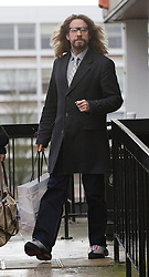 © Licensed to London News Pictures. 22/12/2011. London, UK. Comedian and TV presenter Justin Lee Collins leaving at St Albans Magistrates court today (22/12/2011) where he pleaded not guilty to charges of harassing his ex-girlfriend . Photo credit: Ben Cawthra/LNP