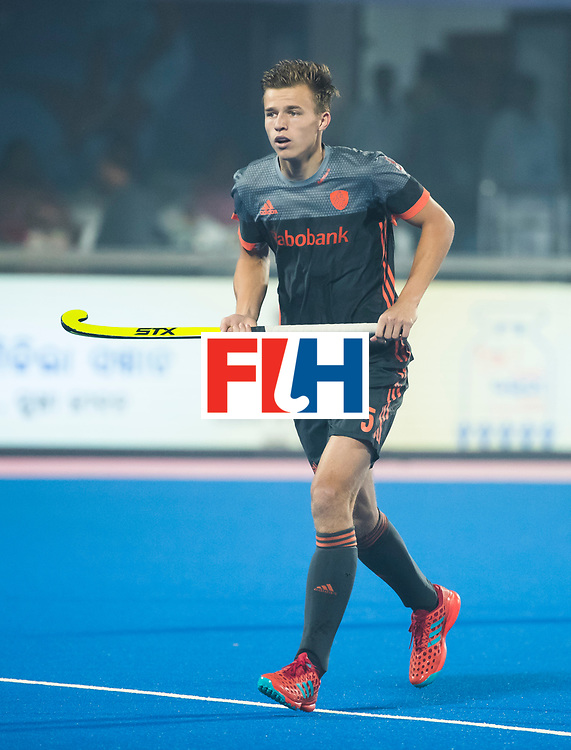 BHUBANESWAR - Thijs van Dam (Ned)  tijdens de Hockey World League Final wedstrijd Belgie-Nederland (3-0).   COPYRIGHT KOEN SUYK