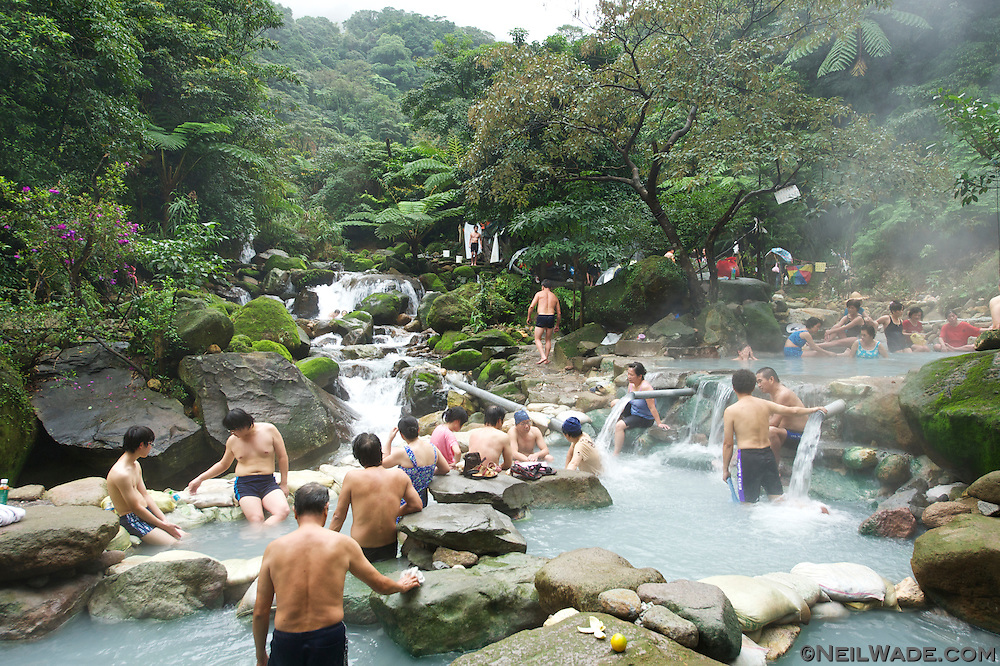 Bayan is a natural, wild hot spring in Yangming Shan Park, Taipei, Taiwan.