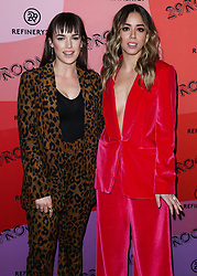 December 4, 2018 - Los Angeles, California, United States - LOS ANGELES, CA, USA - DECEMBER 04: Actresses Elizabeth Henstridge and Chloe Bennet arrive at the Refinery29 29Rooms Los Angeles 2018: Expand Your Reality Opening Party held at The Reef A Creative Habitat on December 4, 2018 in Los Angeles, California, United States. (Credit Image: © face to face via ZUMA Press)
