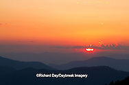 66745-04413 Sunset at Clingman's Dome, Great Smoky Mountains National Park, TN