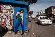 Azzul Monraz is the front singer of Madamme Ur,  Tijuana, Mexico