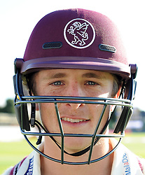 Somerset's Tom Abell. Photo mandatory by-line: Harry Trump/JMP - Mobile: 07966 386802 - 26/05/15 - SPORT - CRICKET - LVCC County Championship - Division 1 - Day 3 - Somerset v Yorkshire - The County Ground, Taunton, England.