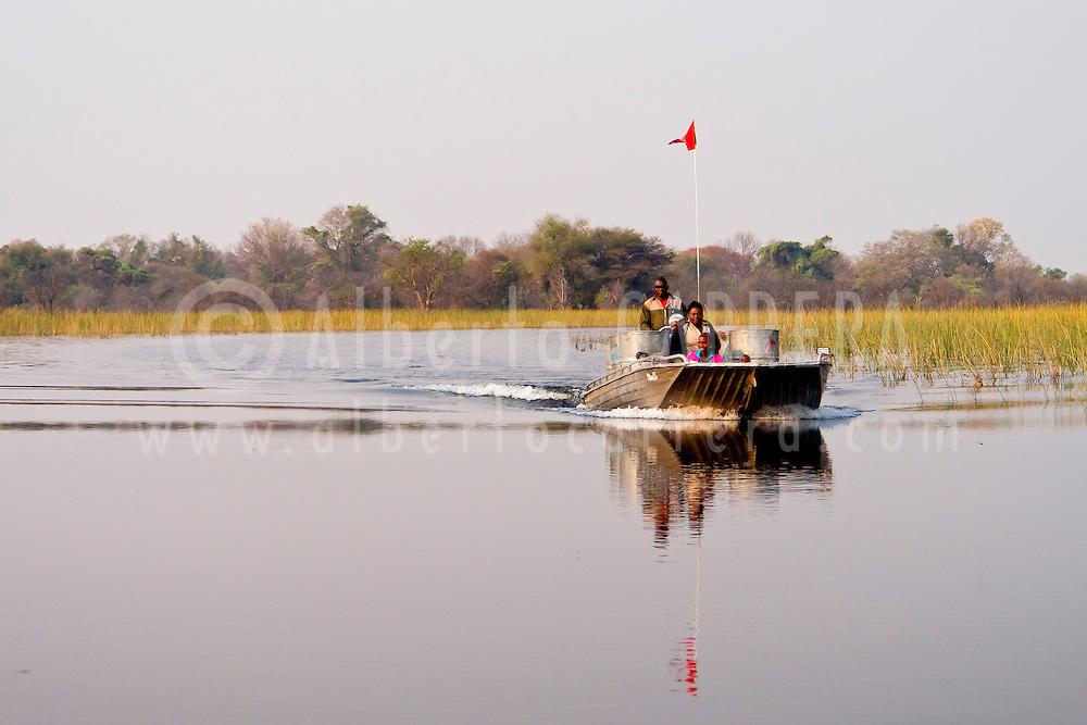 Alberto Carrera, Landscape, Okavango Delta, Botswana, Africa
