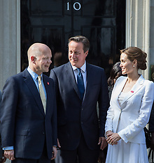 JUN 10 2014 Angelina Jolie meets the PM