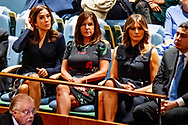 NEW YROK - US Melania Trump and Princess Mary at  the General Debate of the General Assembly of the United Nations at United Nations Headquarters in New York, New York, USA, 25 September 2018. The General Debate of the 73rd session begins on 25 September 2018. ROBIN UTRECHT