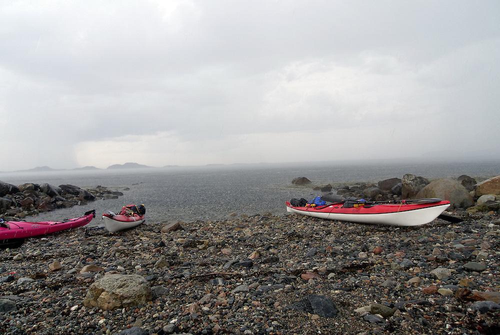 Bad weather in Trondheimsleia
