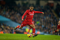 MANCHESTER, ENGLAND - Thursday, January 3, 2019: Liverpool's Georginio Wijnaldum during the FA Premier League match between Manchester City FC and Liverpool FC at the Etihad Stadium. (Pic by David Rawcliffe/Propaganda)