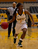 Norfolk State women beat Savannah State 54-49