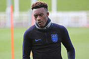 England midfielder Callum Hudson-Odoi during England's Euro 2020 Qualifier training session at St George's Park National Football Centre, Burton-Upon-Trent, United Kingdom on 23 March 2019.