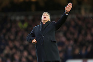 Manager of West Ham United, Sam Allardyce celebrates as Andy Carroll of West Ham United scores the equalising goal of the Barclays Premier League match against Swansea City at the Boleyn Ground, London<br /> Picture by Richard Calver/Focus Images Ltd +447792 981244<br /> 07/12/2014