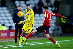 Liam Sercombe of Bristol Rovers takes on Bryan Oviedo of Sunderland - Mandatory by-line: Robbie Stephenson/JMP - 15/12/2018 - FOOTBALL - Stadium of Light - Sunderland, England - Sunderland v Bristol Rovers - Sky Bet League One