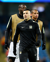 Sergio Aguero of Manchester City  - Mandatory byline: Matt McNulty/JMP - 15/03/2016 - FOOTBALL - Etihad Stadium - Manchester, England - Manchester City v Dynamo Kyiv - Champions League - Round of 16