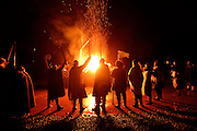 This picture was taken at the Sheringham Scira Viking Festival which culminated with a ceremonial burning of a longboat on the beach. I just like be at events like this as everybody really gets into the sprit of it. <br /> <br /> Photo by Mark Bullimore
