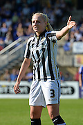 Notts County Ladies defender Alex Greenwood during the FA Women's Super League match between Chelsea Ladies FC and Notts County Ladies FC at Staines Town FC, Staines, United Kingdom on 6 September 2015. Photo by Mark Davies.