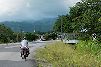 Bike touring through Costa Rica