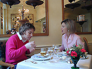 Nicola Fornby having lunch with Jamie Oliver,at the Capital Hotel, Basil St. London. 22/2/00<br />© Copyright Photograph by Dafydd Jones 66 Stockwell Park Rd. London SW9 0DA Tel 0171 733 0108 www.dafjones.com