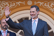 061219 King Felipe VI attends 'Corrida de la Beneficencia' Bullfight