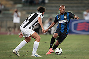 Bari (BA) 21.07.2012 - Trofeo Tim 2012. Inter - Juventus. Nella Foto: De Ceglie sx (J) e Jonathan dx (I)