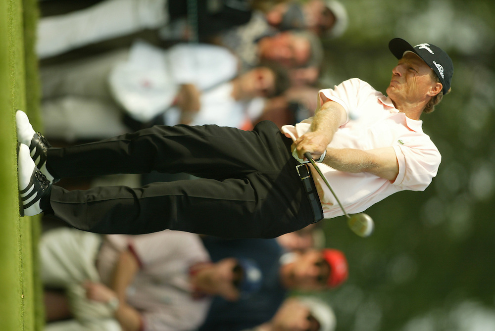 Bernhard Langer..2003 U.S. Open..Second Round..Olympia Fields CC..Chicago, IL..Friday June 13 2003..photograph by Darren Carroll