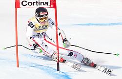 21.01.2011, Tofana, Cortina d Ampezzo, ITA, FIS World Cup Ski Alpin, Lady, Cortina, SuperG, im Bild Elisabeth Goergl (AUT, #18) // Elisabeth Goergl (AUT) during FIS Ski Worldcup ladies SuperG at pista Tofana in Cortina d Ampezzo, Italy on 21/1/2011. EXPA Pictures © 2011, PhotoCredit: EXPA/ J. Groder