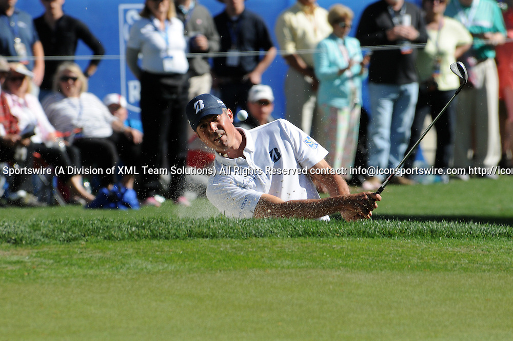 April 16, 2016:  Matt Kuchar during the third round of the RBC Heritage PGA tournament at Harbour Town Golf Links, on Sea Pines Plantation, on Hilton Head Island, SC. (Photo by Ted Wagner/Icon Sportswire)