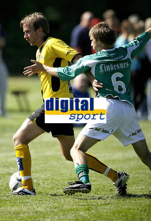 Treningskamp<br /> Start - Mandalskameratene<br /> 17.08.07<br /> Bernt Hulsker - pr&oslash;vespillte for Start mot Mandalskameratene<br /> <br /> Foto: Petter Emil Wik&oslash;ren, Digitalsport