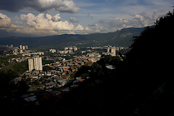 A view of Caracas from Coche, a poor Caracas hillside slum
