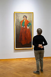 Helene in Spanish Costume by Alexej von Jawlensky at the Gemeentemuseum in The Hague, Den Haag, The Netherlands