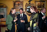 katherine Poulton; Andrea Perrone; Lily Cole, BRIONI FRAGRANCE LAUNCH. Annabels. Berkeley Sq. London. 14 October 2009.