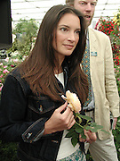 Rachel de Thame. Chelsea Flower Show press preview day. 21 <br />