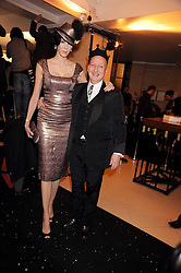 L'WREN SCOTT and STEPHEN JONES at the 2008 British Fashion Awards held at the Lawrence Hall, Westminster, London on 25th November 2008.