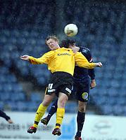 Fotball, 13. mai 2003, NM fotball herrer, Strømsgodset-Bærum,  Kim Nystec, Bærum