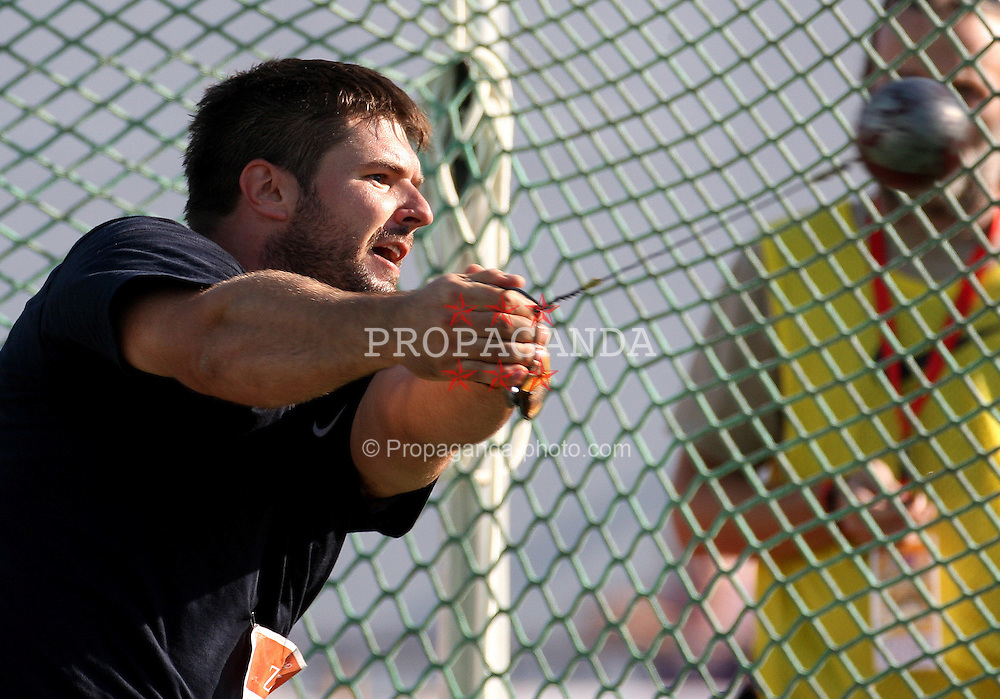 13.09.2011, Sportski Park Mladost, CRO, Athletics Meeting, IAAF World Challenge, Zagreb 2011, im Bild Andras Haklitis // during Athletics Meeting, IAAF World Challenge, Zagreb 2011 at Sportski Park Mlados in Zagreb Croatia on 13/09/2011. EXPA Pictures © 2011, PhotoCredit: EXPA/ nph/ Pixsell +++++ ATTENTION - OUT OF GERMANY/(GER), CROATIA/(CRO), BELGIAN/(BEL) +++++