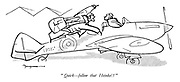 """Quick - follow that Heinkel!"""