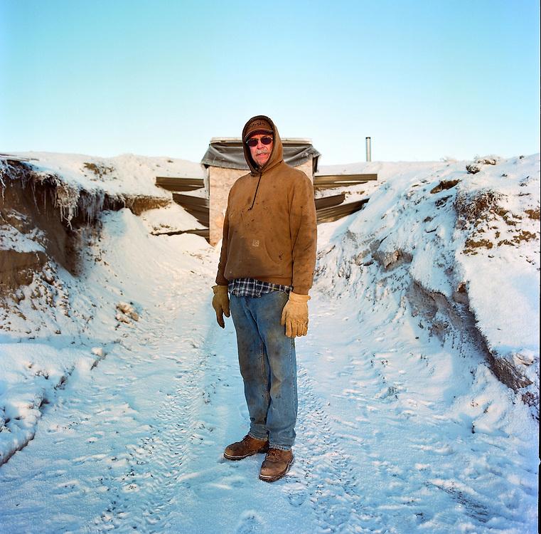 Tim Meyers of Meyers Farm in Bethel, Alaska. 2011
